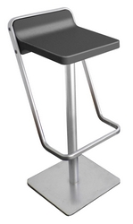 Tabouret de bar gris anthracite